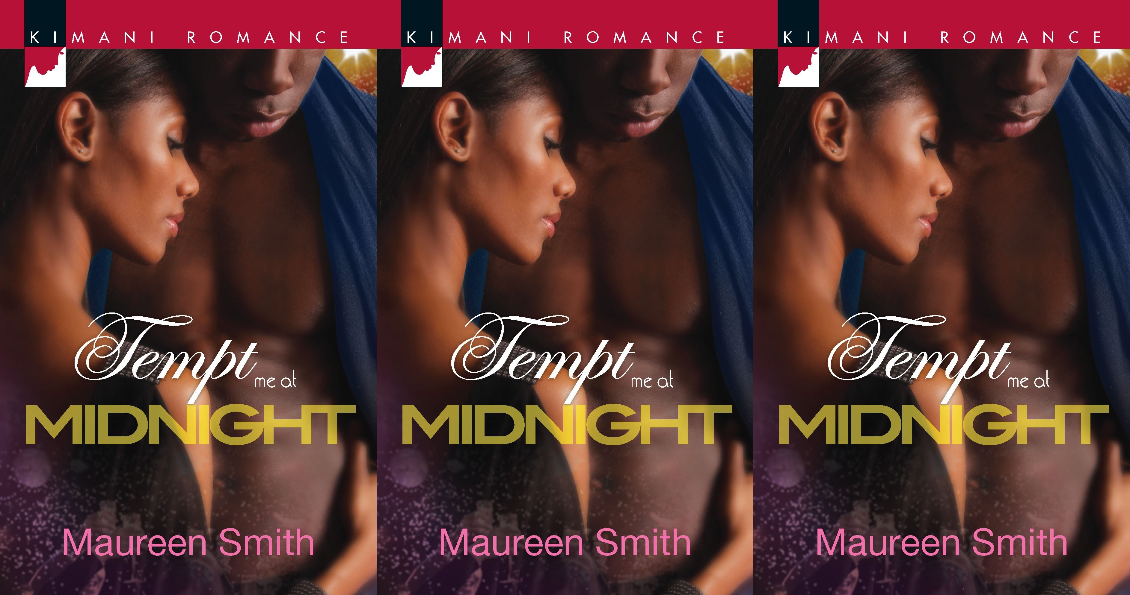 new year's romance novels, tempt me at midnight by maureen smith, books