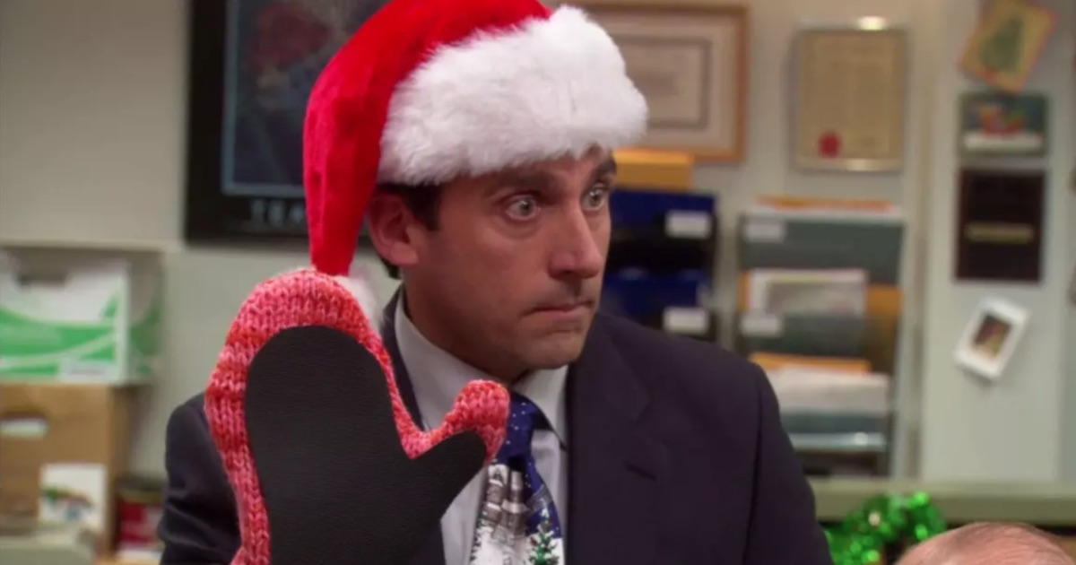 michael scott the office christmas party