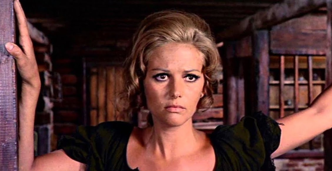 claudia cardinale, once a upon a time in the west