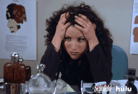 Elaine - Seinfield - stressed out