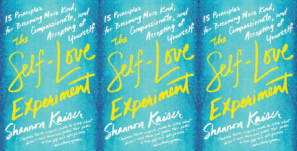 self care books, the self love experiment by shannon kaiser, books