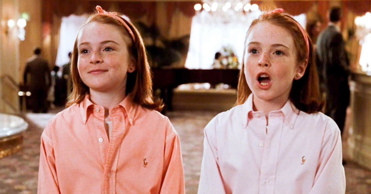 lindsay lohan in the parent trap movie