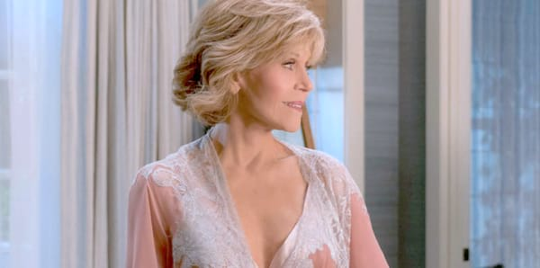 Grace and Frankie, lingerie, 50