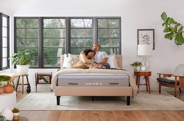 The Awara organic luxury hybrid mattress made with natural foam and New Zealand wool, sex, home, health, relationships