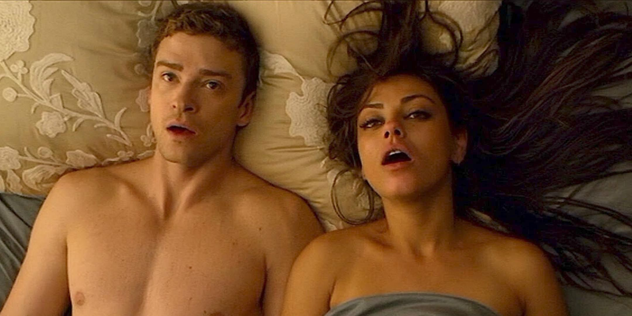 Mila Kunis and Justin Timberlake in \Friends with Benefits\ (2011)