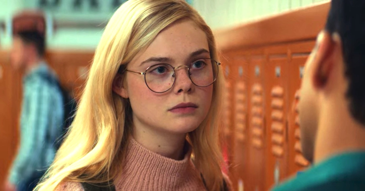 All The Bright Places, elle fanning, smart, glasses, hero, school, student