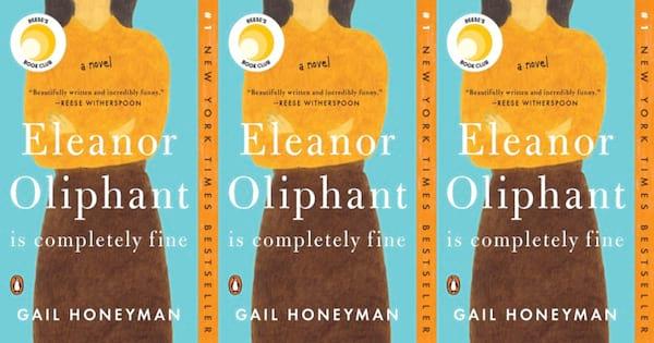 eleanor oliphant is completely fine book by gail honeyman