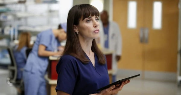 Alana Cahill played by Constance Zimmer Grey's Anatomy