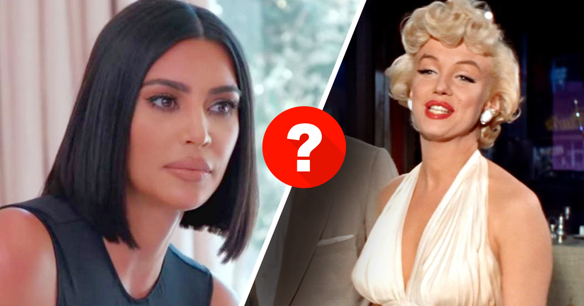 guess your age quiz, age quiz, kim, kim kardashian, pop culture, marilyn monroe