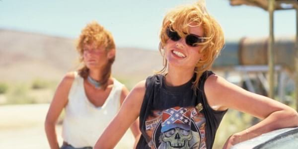 liz, arizona, desert, Thelma And Louise