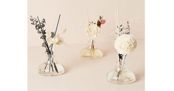 floral bouquet diffuser set mother's day gift