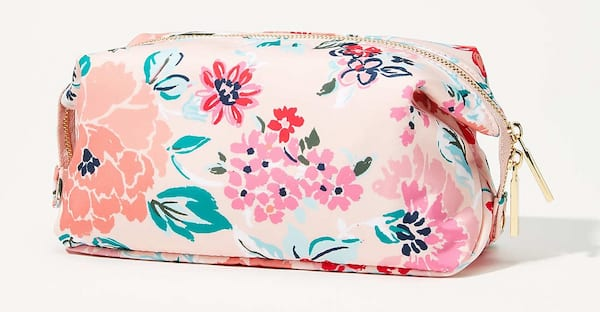 floral makeup case from loft mother's day gift