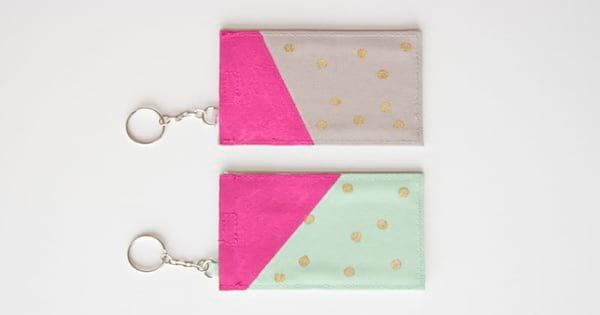 colorful luggage tags diy mother's day gift