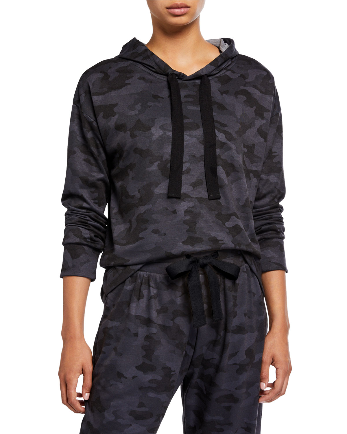 onzie camo pullover and jogger pants activewear cozy set