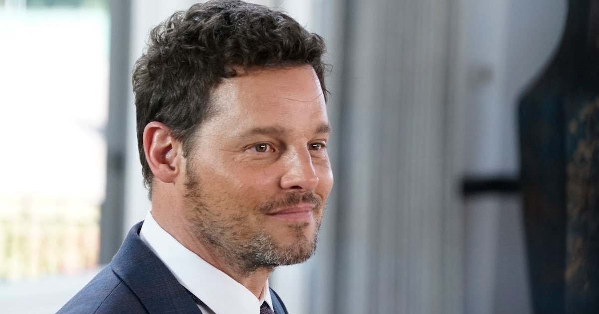 Alex Karev from Grey's Anatomy smirking