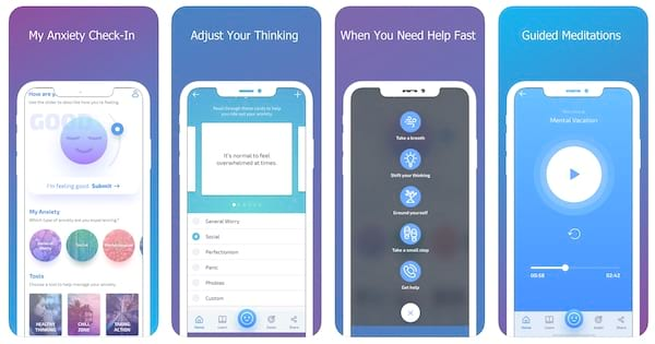 MindShift CBT - Anxiety Canada app for stress and anxiety iphone