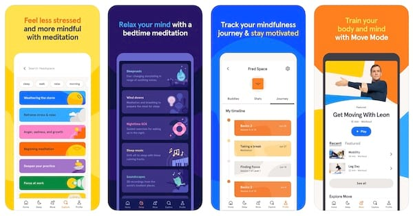 headspace meditation app for stress and anxiety