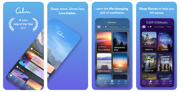 calm app for anxiety and stress relief