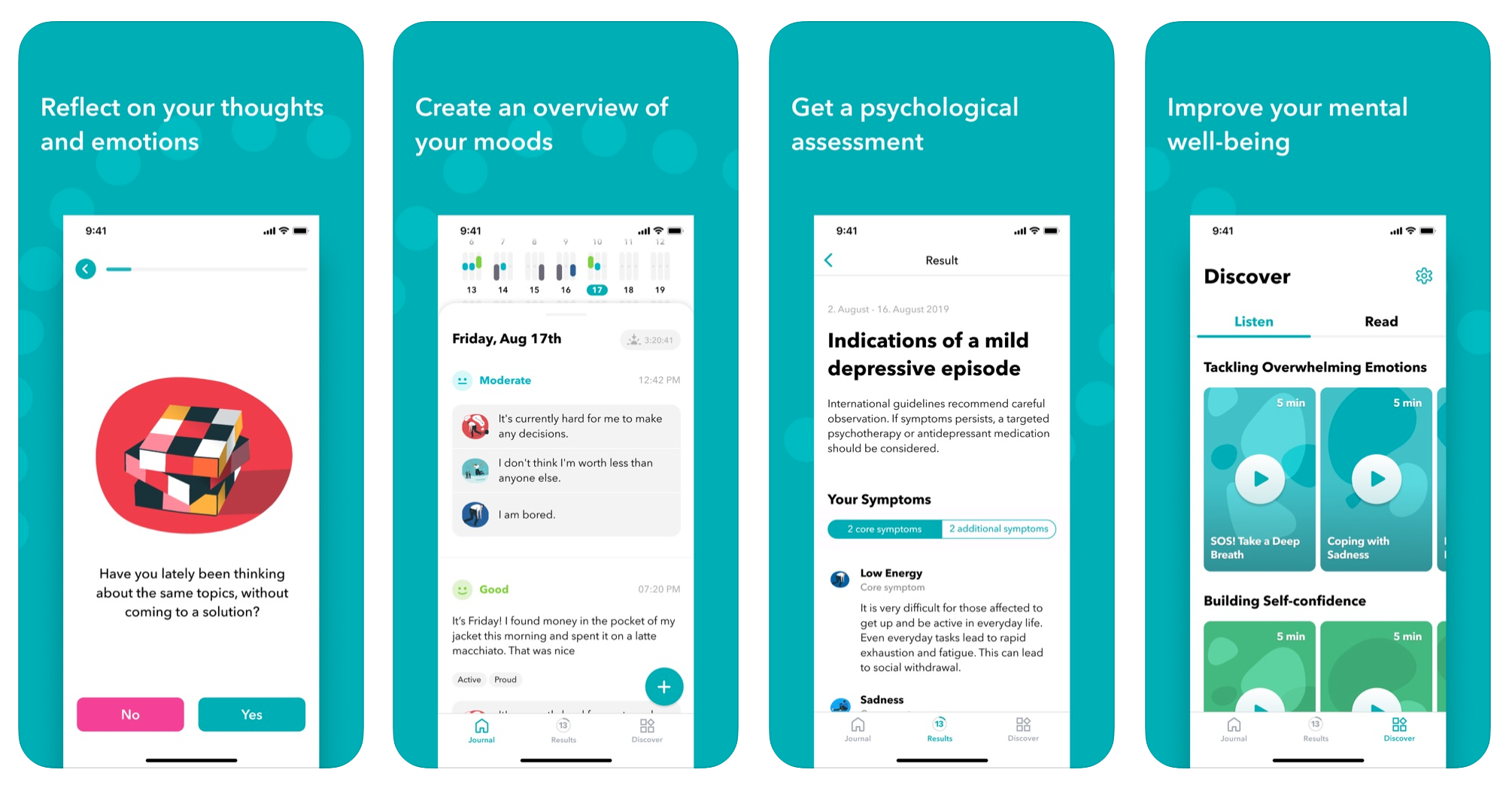 moodpath mental health app iphone