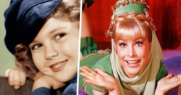 geise hero, baby boomer, 60s, I Dream of Jeannie, Shirley Temple, barbara eden