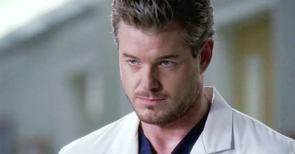 mark sloan as eric dane on grey's anatomy