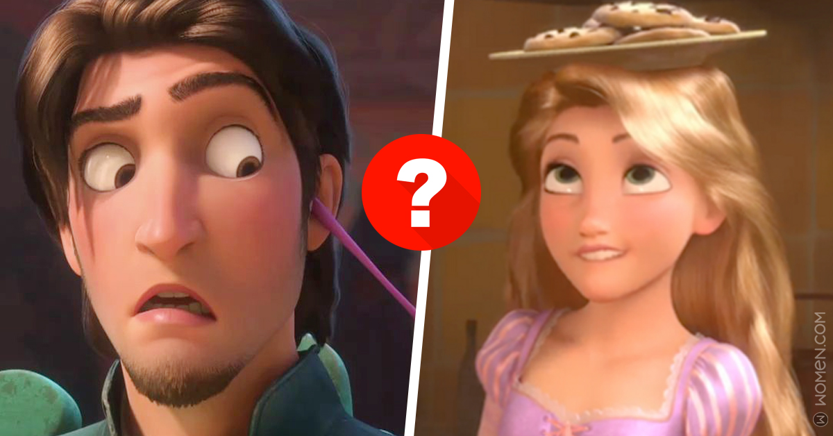 geise here, tangled, disney quizzes
