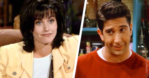 monica, ross, Friends, guess your age, siblings