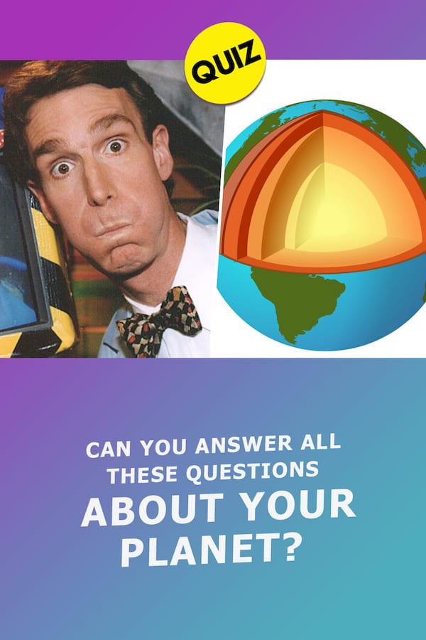 Quiz: Can You Answer All These Questions About Your Planet, Earth? - Quiz-Bliss.com