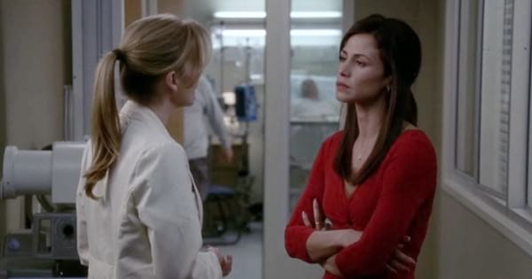 grey's anatomy meredith talking to patient's wife season 1