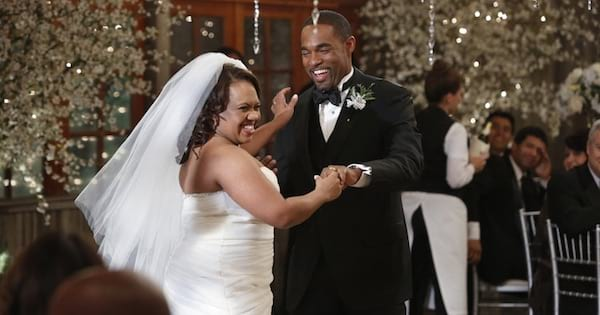 Bailey and ben dancing at their wedding grey's anatomy
