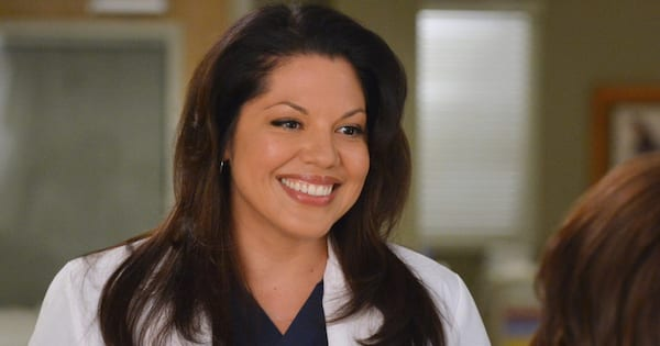 callie torres smiling grey's anatomy