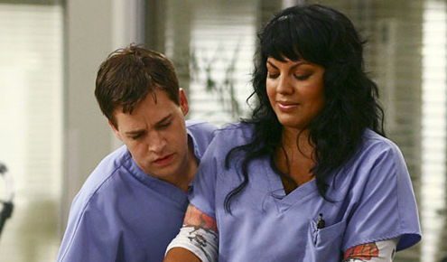 Callie and George