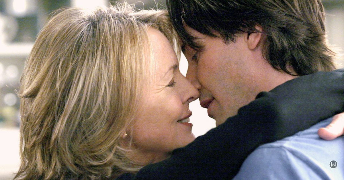 somethings gotta give, diane keaton keanu reeves, love over 50, dating over 50