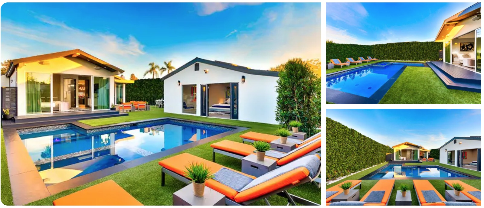Sunset Villa with Pool In Beverly Hills