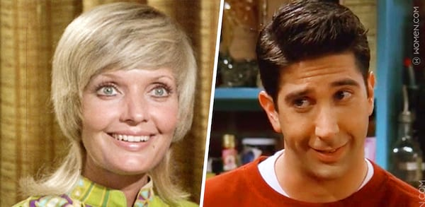 ross, BradyBunch, sitcoms, entertainment, TV Shows, classic characters, Florence Henderson