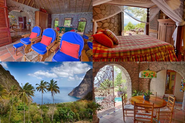st. lucia airbnb