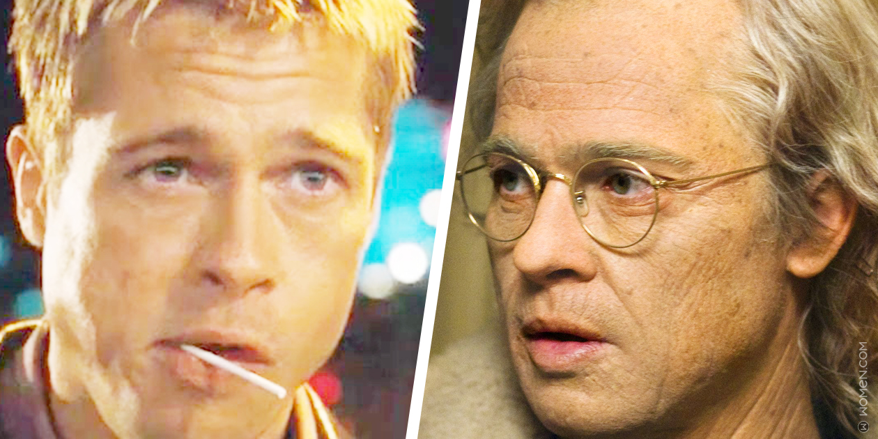 brad pitt, mental age, benjamin button