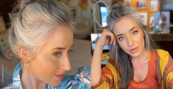 Flaunt Your Silver Tresses With 15 Awesome Gray Hair IG Captions
