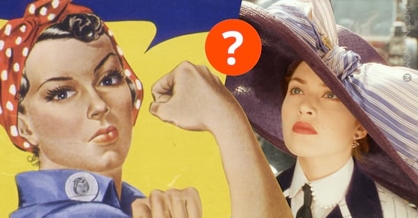 rosie and rose, titanic, historic, historic women, women in history