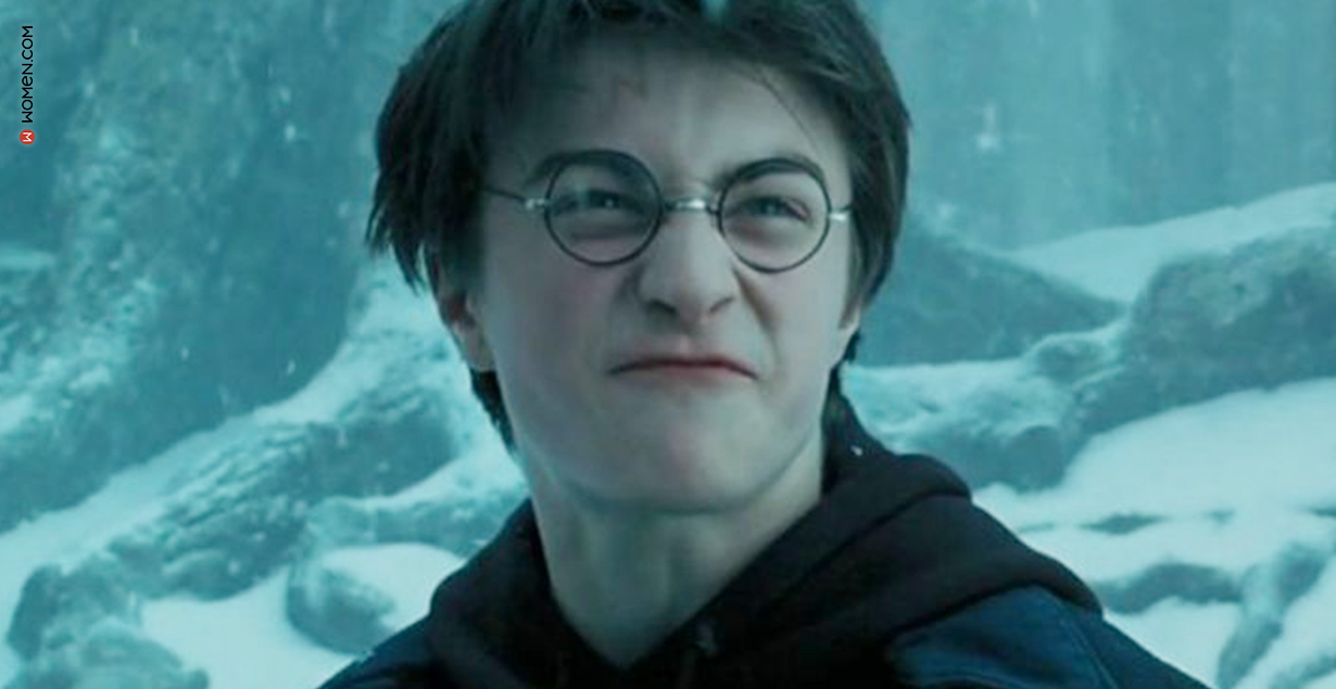 HP face, harry potter face