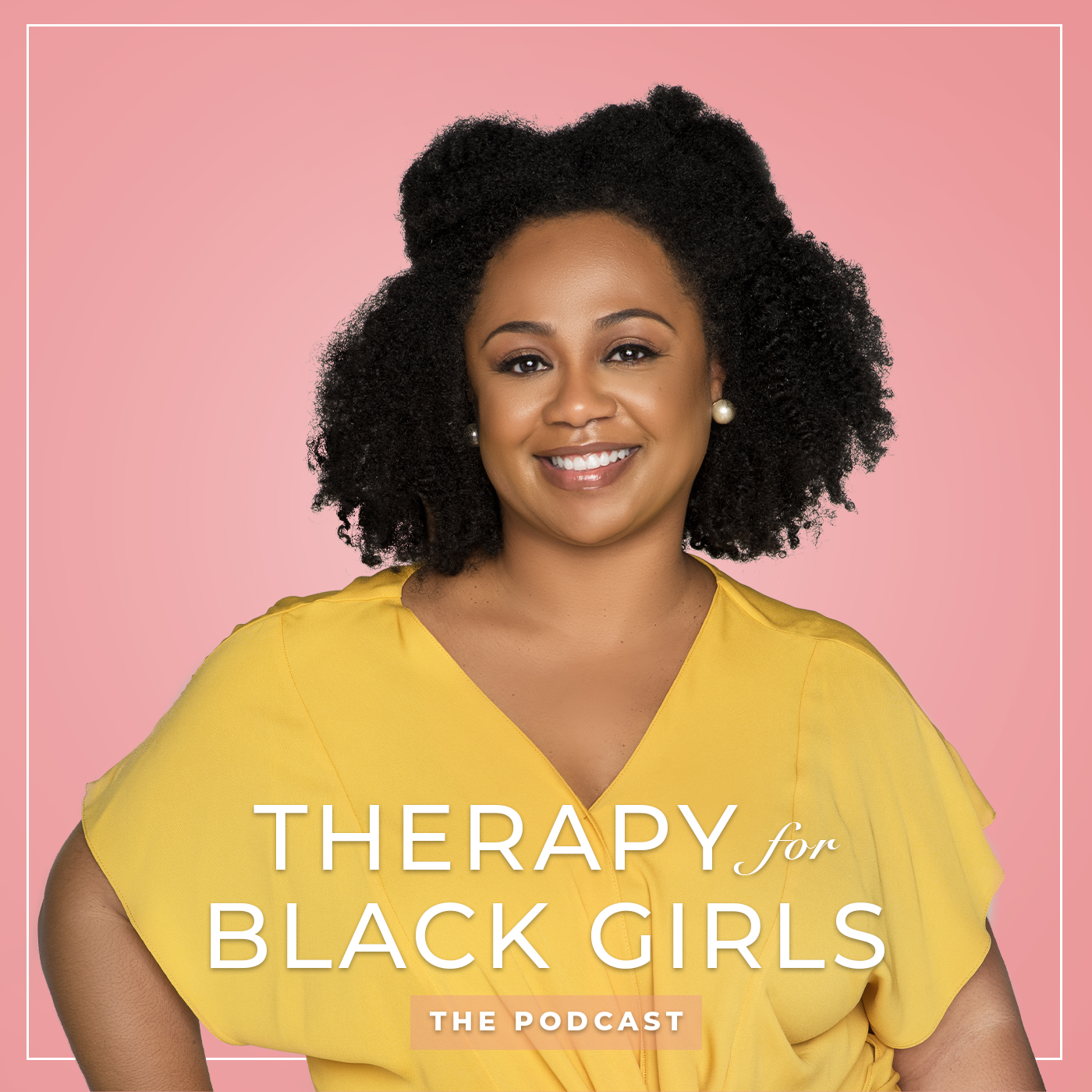 A picture of Therapy for Black Girls podcast host, Dr. Joy Harden Bradford.