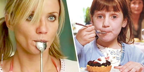 eating, in her shoes, matilda, food quiz, spoon, meal, eat