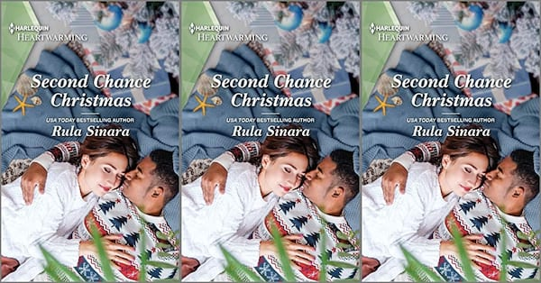 cover of second chance christmas by rula sinara, books