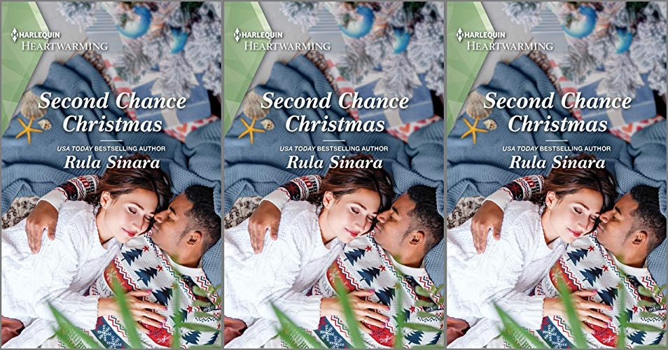 books, cover of second chance christmas by rula sinara