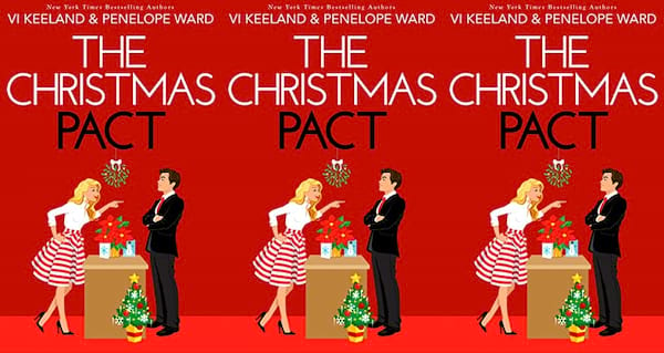 cover of the christmas pact by vi keeland and penelope ward, books