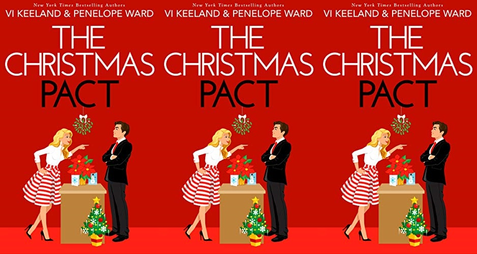 books, cover of the christmas pact by vi keeland and penelope ward
