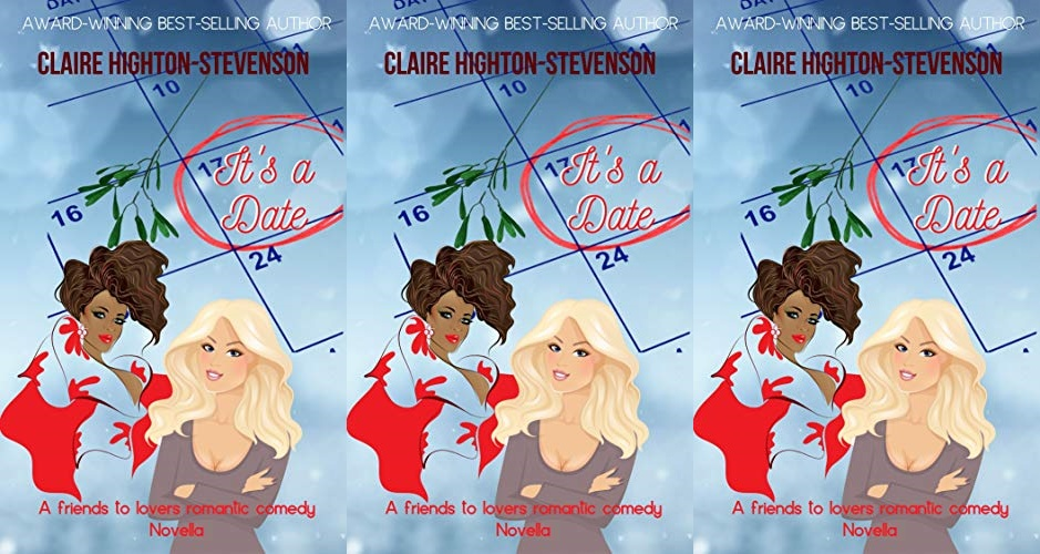 cover of it's a date by claire highton-stevenson