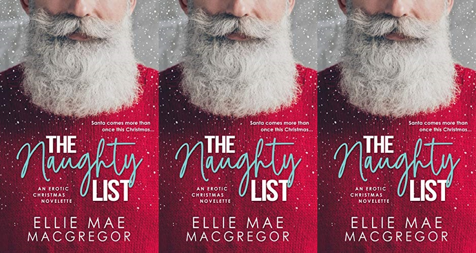 books, cover of the naughty list by ellie mae macgregor