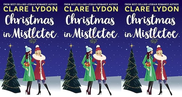 cover of christmas in mistletoe by clare lydon, books