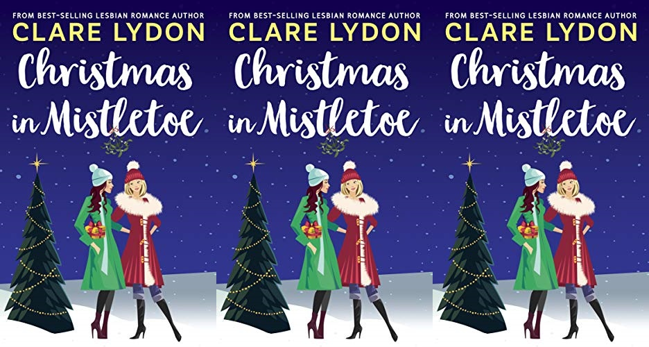 books, cover of christmas in mistletoe by clare lydon